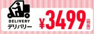 ドミノピザの母の日セットのデリバリー用クーポン3499円