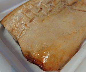 ローソンのさばの塩焼きの脂がのってジューシーな写真