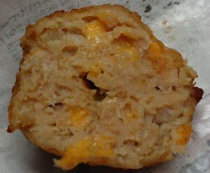 ファミリーマート チーズつくね串の断面図その2