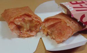 ローソン グーボ(GU-BO)明太チーズ味の断面図