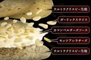 ドミノピザ 裏ドミノ第3弾の新生地「天使のガーリックミルフィーユ」2020年11月2日登場!