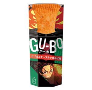ローソンのグーボ(GU-BO)ヒノカミチーズタッカルビ味のパッケージ