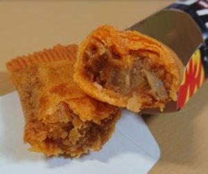 ローソンのグーボ(GU-BO)ヒノカミチーズタッカルビ味の断面図